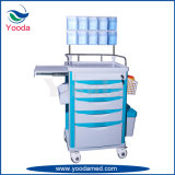 Hospital and Medical Equipment Plastic Anesthesia Trolley