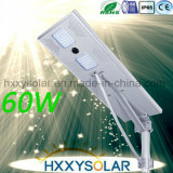 60W All in One LED Solar Street Light with Control