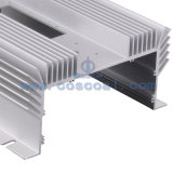 Clear Anodized Aluminium/Aluminum Extruded Industrial Profile