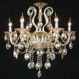 Amber Crystal Chandelier Lights (KD8005-6)
