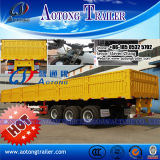 Hot Sale Side Wall Open Semi Trailer Cargo Transportation