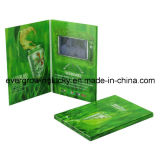 Super Thin Video Photo Book LCD Advertising Video Booklet