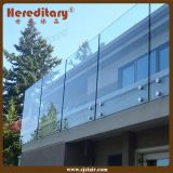 Building Glass Standoff Railing System Stainless Steel Balcony Handrail for Decor (SJ-S400)