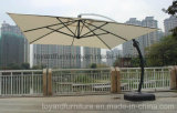 Best Choices 10 FT Square Aluminum Hanging Outdoor Patio Umbrella for Garden Cafe Tables