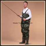 High Quality 70d Polyteser PVC Coating Fishing Chest Wader
