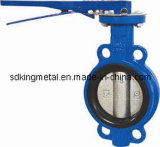 Wafer Type Cast Ductile Iron Butterfly Valve