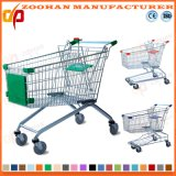 Most Popular Supermarket Metal Shopping Trolley (ZHT1)
