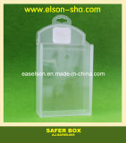 Security EAS Protective Box, Theft Plastic EAS Safer Box (AJ-SAFER-005)