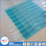 Clear Buiding Roof Material UV Protection Corrugated Polycarbonate Sheet