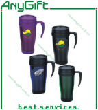 Plastic Travel Mug with Customized Logo