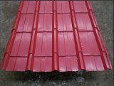 Bright Red Corrugated Steel Plate for Building Materials
