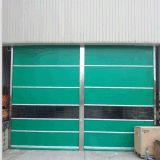 Automatic Inductive PVC Clean Room Fast Rolling Shutter Door (HF-1090)