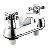 ABS Double Handle Basin Faucet Mixer (JY-018)