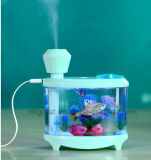Desk Mini Aquarium Lamp Humidifier with Different Color