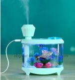 Desk Mini Aquarium Lamp Humidifier with Different Color