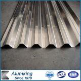 18mm Wave Height Corrugated Aluminum Sheet