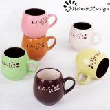 12oz Colorful Ceramic Silk Screen Mug