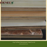 18mm Laminated Plywood with Wooden Grain Color Melamine