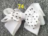 Bowknot Fashion Decorative Metal Silver Hairpins for Children 74