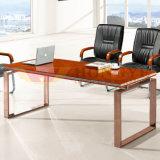 Modern Wooden Veneer Conference Metal Modular Meeting Table (HY-A218)