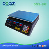 30kg 35kg 40kg Electronic Weighing Computing Price Scale (OCPS-208)