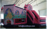 Girls Inflatable Princess House with Slide Home Decoration (A019)