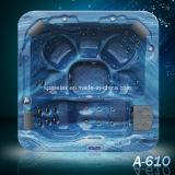 Outdoor Acrylic Bathtub Freestanding SPA (A610)