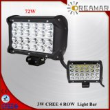 7 Inch 72W Row LED Lightbar for Jeep, Offroad, SUV