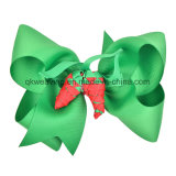 Handmade Ribbon Bow Christmas Hair Accessories Hair Clip