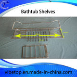Hot Sale All Bathtubs Are Suitable Expandable Stainless Steel Bathtub Rack Shelf