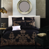 6PCS and 8 PCS Luxury Cotton European Style Embroidered Comforter Cover Bedding Set