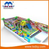 Cheap Indoor Playground Eqipment Wih Climbing Wall