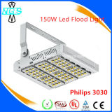 Silver Housing Philips Chip Meanwell Modular LED Flood Light 150W
