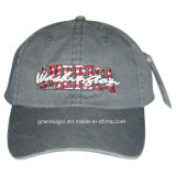American Pigment Washed Baseball Cap with Embroidery Logo