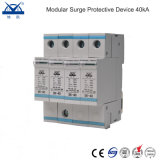 Modular 40ka 380V Three Phase Power Surge Protector 4p