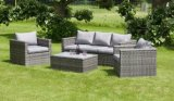 Wicker Square Patio Dining Set Rattan