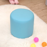 Cute Baby Furniture Kids Upholstered Step Stool Ottoman (SXBB-122)