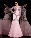 Crystal Costume Prom Gowns Luxury Party Evening Dress L1746