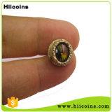 Metagems Lapel Pin, Rose Lapel Pin, Apple Pins, Custom, Direct Selling