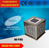 Classical Chinese Style Solar Post Light with Ce