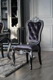 2016 New Collection Chair Classic Blue Amber Style Chair Ba-2705A Noble Chair Solid Wood Chair European Dining Room Chair