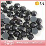 12 Faceted Flat Back Crystal Loose Beads for Motif Making