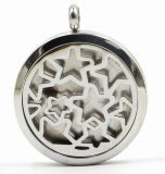 Factory Direct 30mm Rd 316L Stainless Steel Perfume Locket Pendant