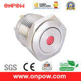 Onpow 16mm Illuminated Push Button Switch (GQ16F-10D/J/R/12V/S, CE, CCC, RoHS)