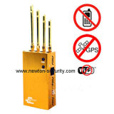 Portable Mobile Phone Jammer GPS Signal Blocker Handheld WiFi Jammer