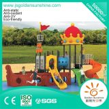 Plastic Outdoor Playground Amusement Equipment Slide for Children and Kids with CE/ISO Certificate