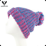 Fashion Lady′s Winter Knitted Thinsulate Hat