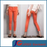 Orange Colour Online Girl Fashion Flare Jeans (JC1377)