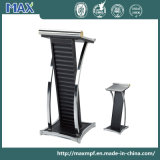 Classic Designs Church Conference Wooden Leather Speech Lectern Rostrum