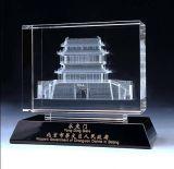 High-Grade 3D Image Crystal K9 Glass Building Model